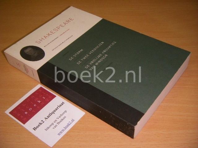 WILLIAM SHAKESPEARE; WILLY COURTEAUX (VERTALING) - William Shakespeare, verzameld werk: Komedies De storm, De twee Veronezen, De vrolijke vrouwtjes van Windsor