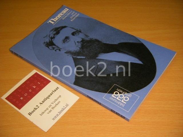 HANS-DIETER KLUMPJAN; HELMUT KLUMPJAN - Henry D. Thoreau mit Selbstzeugnissen und Bilddokumenten