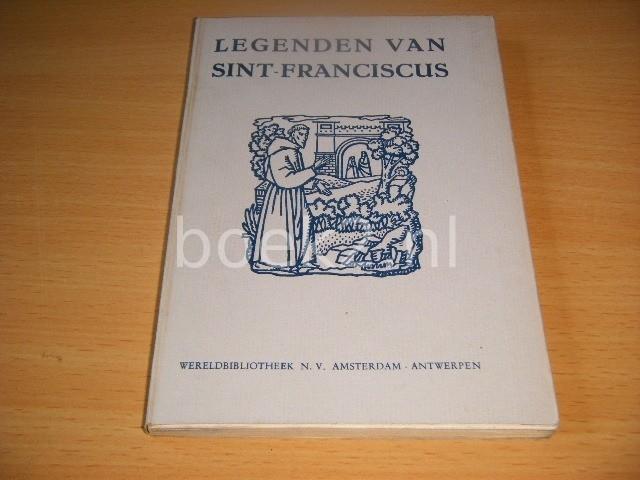 DR. CATHARINA YPES - Legenden van Sint-Franciscus