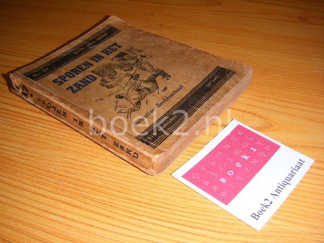 MAZURE, ALFRED - Sporen in het zand [Dick Bos Serie No. 17, 2e serie]