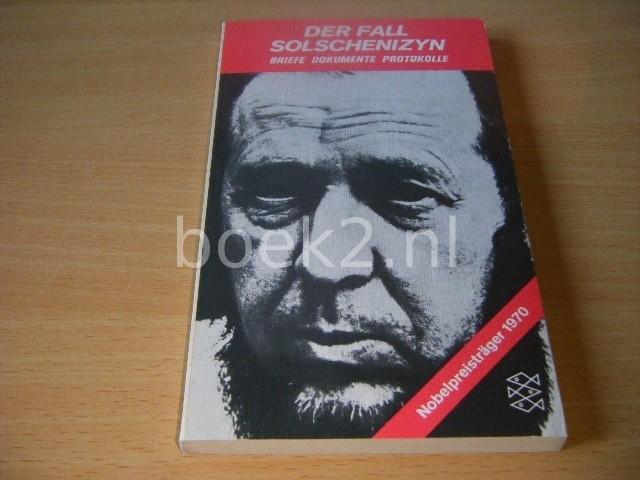 BERND NIELSEN-STOKKEBY - Der Fall Solschenizá»³n Briefe, Dokumente, Protokolle