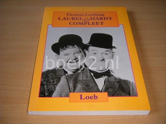 THOMAS LEEFLANG - Laurel en Hardy compleet