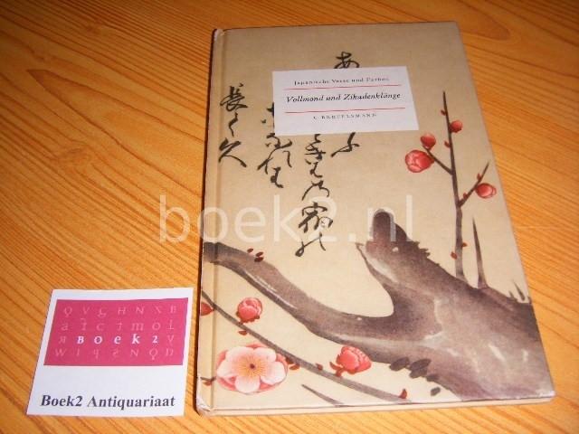 COUDENHOVE, GEROLF (VOORWOORD) - Vollmond und Zikadenklange - Japanische Verse und Farben