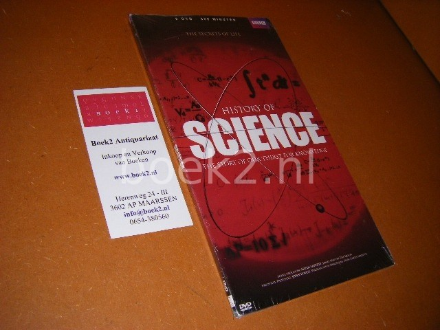 LAVERTY, AIDAN (ED.) - History of Science. [The Secrets of Life] [3 DVD-box] The Story of our Thirst for Knowledge.