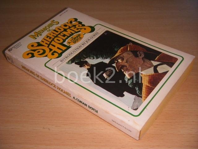 A. CONAN DOYLE - Memoirs of Sherlock Holmes