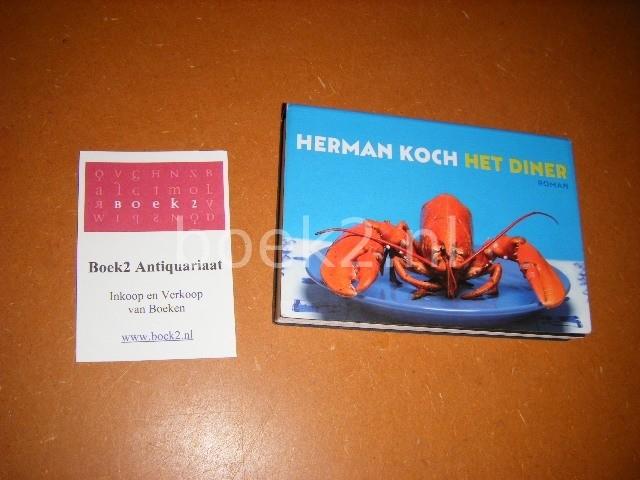 HERMAN KOCH - Het diner [Dwarsligger 55] roman