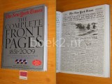 The New York Times, The Complete Front Pages 1851-2009 [met 3 DVD's]