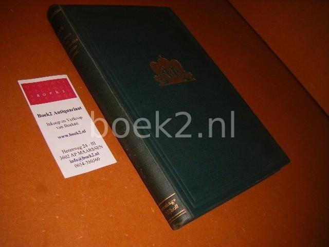 ELIAS, DR. JOHAN E. - Geschiedenis van het Amsterdamsche Regentenpatriciaat.