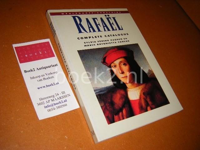 PAGDEN, SYLVIA FERINO, MARIA ANTONIETTA ZANCAN. - Rafael -  Meulenhoff Kunstgids Complete catalogus van het geschilderde werk.