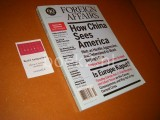 Foreign Affairs - How China sees America - September / October 2012 Volume 91 - Number 5.