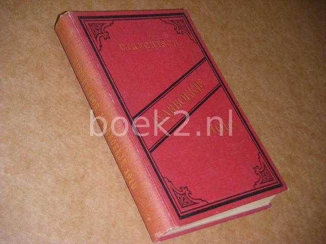 - Utrechtsch Jaarboekje voor het jaar 1910. 69e jaargang.