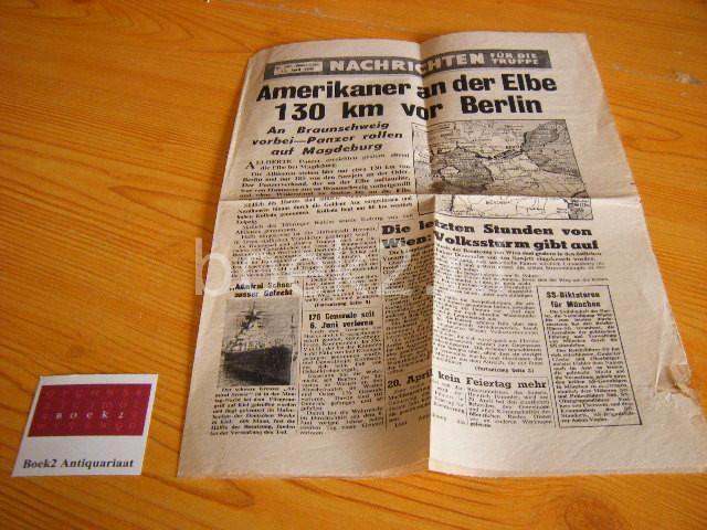 (EDS.) - Nachrichten fur die Truppe, nr. 361, Donnerstag, 12. April 1945