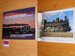 Steam on 4 continents, Part I: Europe and South America.