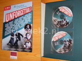 Unforgettable. Het levensverhaal van 40 topartiesten [met 4 cds]