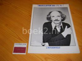 J. Ritzerfeld, BZZLLETIN 103, jrg. 11, februari 1983