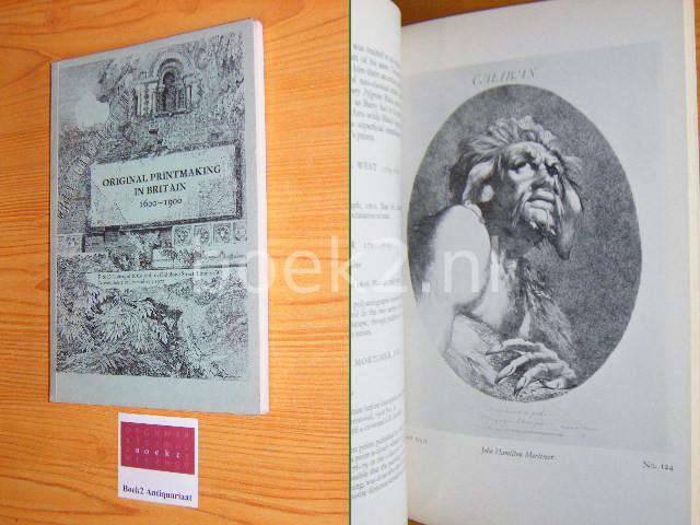 (RED.) - Original printmaking in Britain 1600-1900