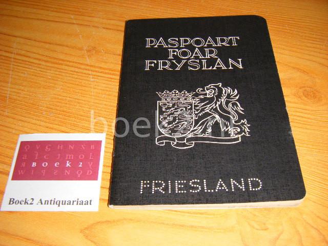 (RED.) - Paspoart foar Fryslan. Geldigheidsduur 1-41974 - 1-1-1975. Paspoort voor Friesland - Passport to Friesland - Pass fur Friesland - Passeport pour la Frise