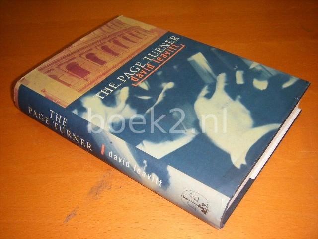 DAVID LEAVITT - The Page Turner. A Novel