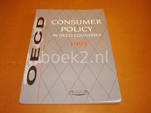 OECD - Consumer policy in OECD countries 1995