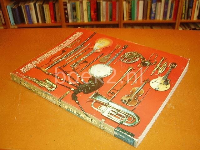 MIDGLEY, RUTH (EDITOR) - Musical instruments of the world. An illustrated encyclopedia.
