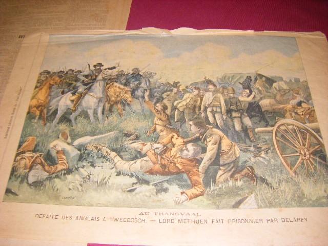 Anon. - Le Petit Parisien. Supplement Litteraire Illustre, Dimanche 17 aout 1902, numero 706 + Le Petit Journal. Supplement illustre. Dimanche 21 aout 1904, numero 718