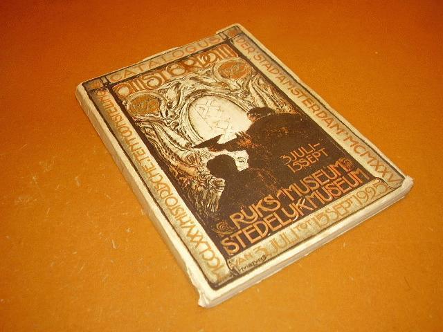 Boer, M.G. de - Catalogus der Historische Tentoonstelling Amsterdam 1925 - Eerste deel: inleiding