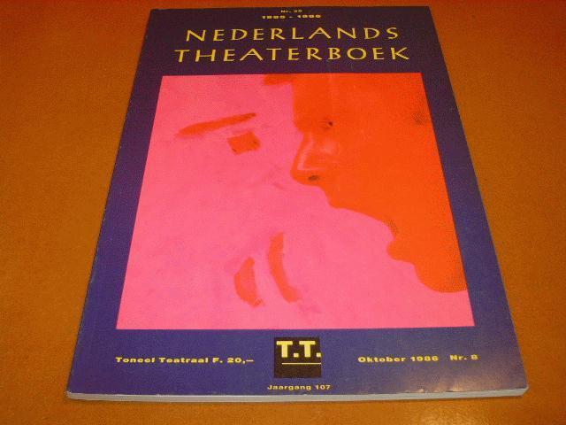 - Nederlands Theaterboek Nummer 35 oktober 1986 nr.8 jaargang 107 1985-1986