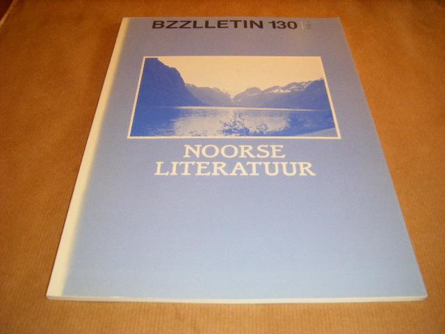 Red.; Cartens, Daan - BZZLLETIN. 14e jaargang nummer 130, november 1985. Noorse Literatuur.