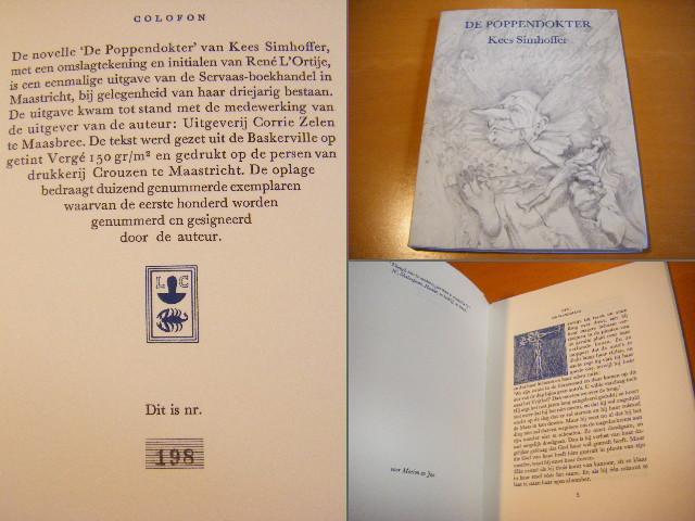 SIMHOFFER, KEES - De Poppendokter [Nr. 198, Genummerd]
