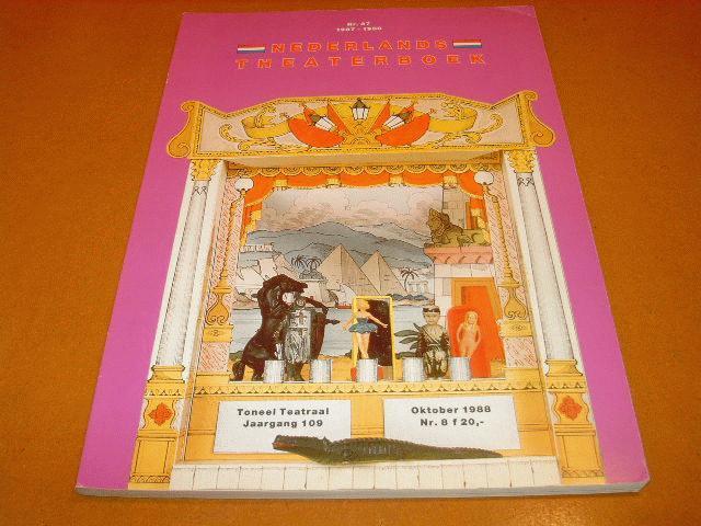 - Nederlands Theaterboek Nummer 37 oktober 1988 nr. 8 jaargang 109 1987-1988