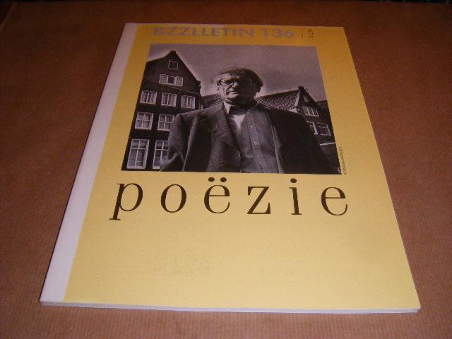 Red.; Cartens, Daan - BZZLLETIN. 14e jaargang nummer 136, mei 1986. Poezie.