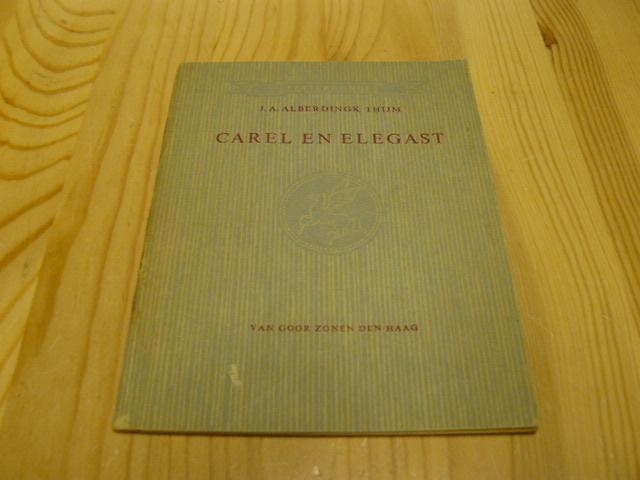 Alberdingk Thijm, J.A. - Carel en Elegast