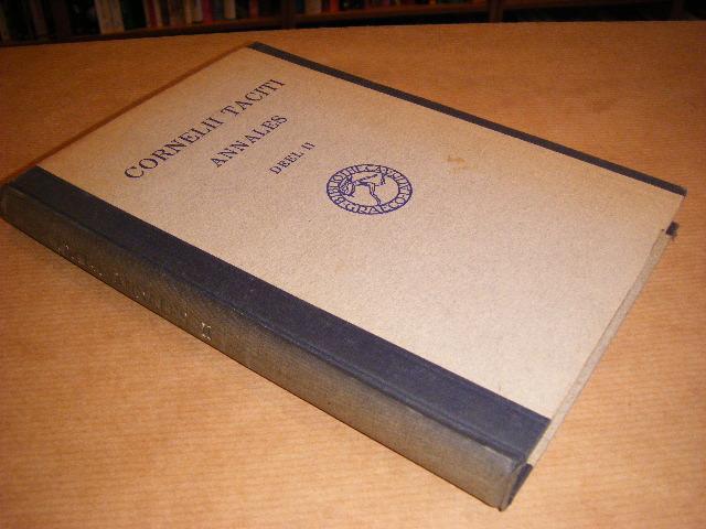Taciti, Cornelii; Meerwaldt, Dr. D.J. (bezorger) - Annales ab excessu divi Augusti, deel 2, boek XI-XVI