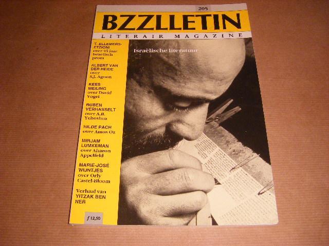 Red. - BZZLLETIN Literair Magazine nr. 205 Israelische Literatuur