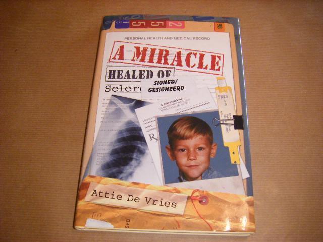 Vries, Attie de - A Miracle [gesigneerd]