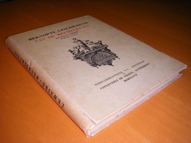Lemaire, Kan. R. - Beknopte geschiedenis van de meubelkunst.