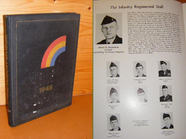 Salyer, Kermit W. (ed.) - Official 1948 Yearbook. 42nd Infantry (Rainbow) Division. New York National Guard.