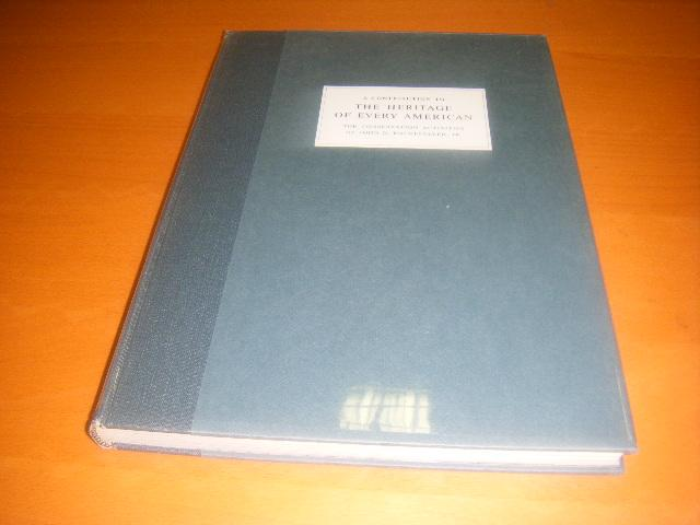 Newhall, Nancy. - A Contribution to the Heritage of Every American. The conservation activities of John D. Rockefeller, Jr.
