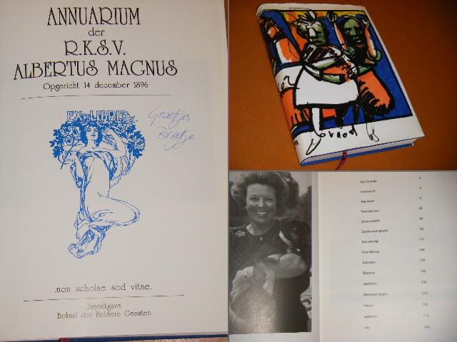 Red. - Annuarium der R.K.S.V. Albertus Magnus. 1993 Opgericht 14 december 1896.