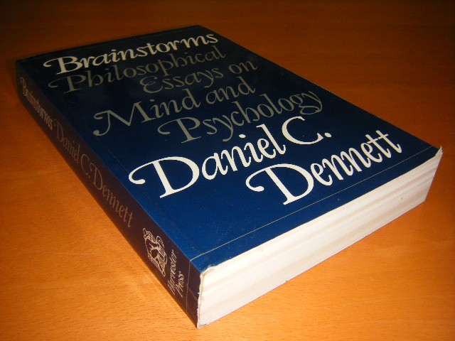 daniel dennett brainstorms philosophical essays on mind and psychology