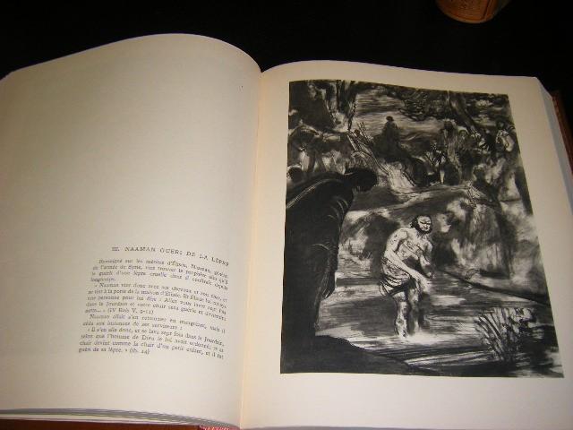 Francois Amiot, Robert Tamisier - La Bible illustree par Edy Legrand [vier delen]