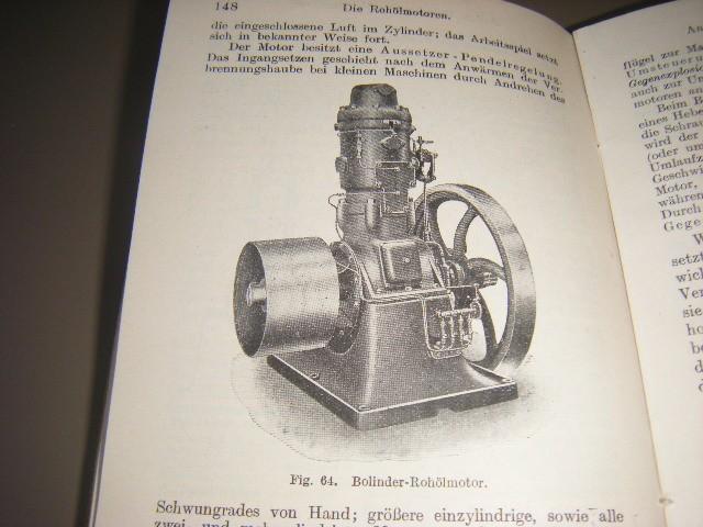 KIRSCHKE, INGENIEUR ALFRED - Die Graskraftmaschinen. Kurzgefasste darstellung der wichtigsten Gasmaschinen Bauarten 2 Teilchen, 1. Explosions-Kleingasmotoren, ... usw., 2. Grossmaschinen, ..., usw., Mit zusammen 116 Abb. und 6 Tafeln.