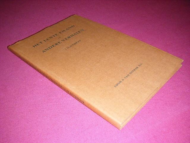 J. Slauerhoff - Het lente-eiland en andere verhalen