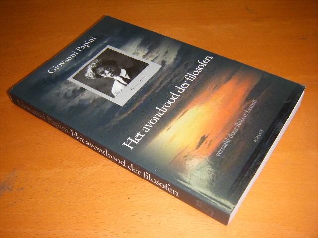 Giovanni Papini - Het avondrood der filosofen