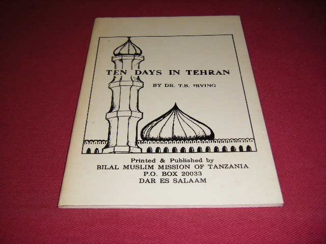 T.B. Irving - Ten days in Tehran, February 1980 Notes on the first anniversary of the islamic republic of Iran and the inauguration of president Bani-Sadr as its first president.
