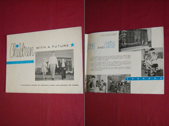 - Children with a future, A pictorial story of masonic home and school of Texas