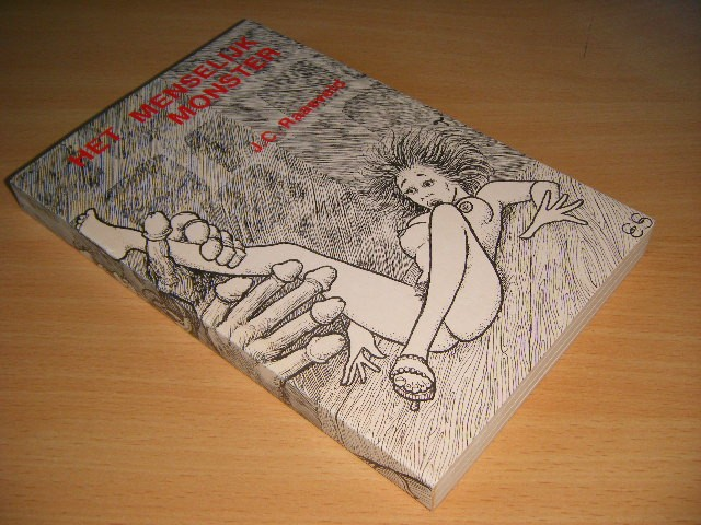J.C. Raasveld - Het menselijk monster SF verhalen