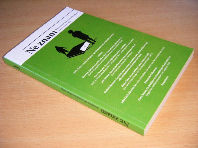 Philippe Kellermann - Ne znam  Zeitschrift für Anarchismusforschung, Nummer 1, Fruhjahr 2015
