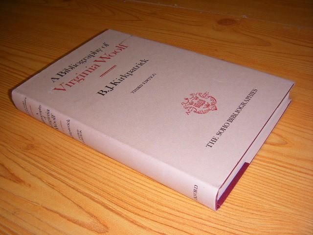 B.J. Kirkpatrick - A bibliography of Virginia Woolf [Third Edition]