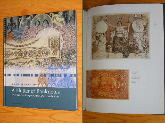 Rene Brion, Jean-Louis Moreau - A Flutter of Banknotes - From the First European Paper Money to the Euro